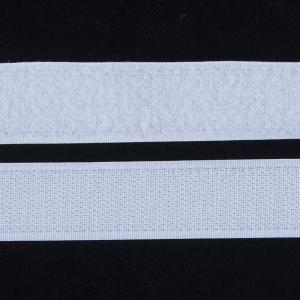 Лента-липучка 25 мм 1 м цвет белый