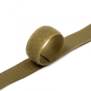 Лента-липучка 25 мм 25 м цвет F297 (287) кор-серый