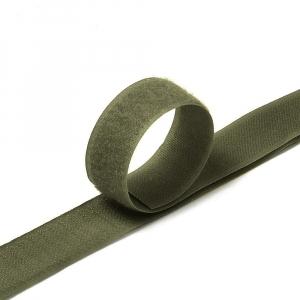Лента-липучка 25 мм 25 м цвет F328 хаки