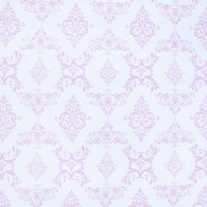 Ткань на отрез бязь плательная б/з 150 см 8105 Дамаск цвет розовый