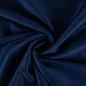 Ткань на отрез сатин гладкокрашеный 250 см 50S 339 синий