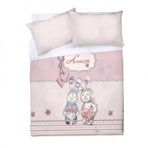 Детское постельное белье Алиса 1.5 сп поплин