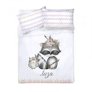 Детское постельное белье Лиза 1.5 сп поплин