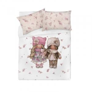 Детское постельное белье Подружки 1.5 сп поплин