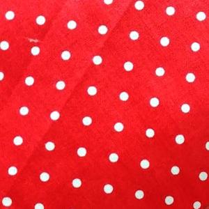 Поплин 150 см 388/20 Горошек цвет красный