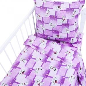 Постельное белье в детскую кроватку Бязь 100 гр/м2 8