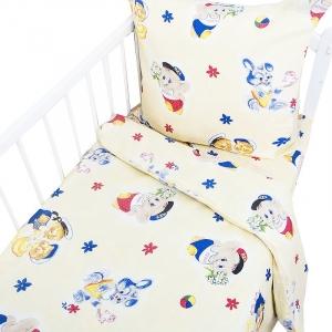 Постельное белье в детскую кроватку Бязь 100 гр/м2 9