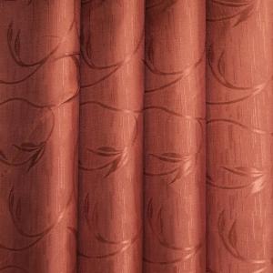 Портьерная ткань 150 см 71 цвет бронза ветка-лист
