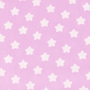 Ткань на отрез бязь плательная 150 см 1737/2 цвет розовый