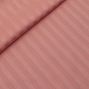 Страйп сатин полоса 1х1 см 220 см 135 гр/м2 цвет 129 коралловый