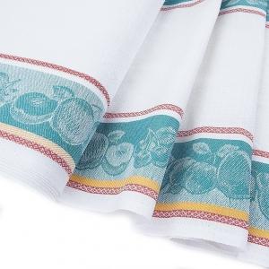 Полулен полотенечный 50 см Жаккард цвет изумрудный