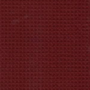 Вафельное полотно гладкокрашенное 150 см 240 гр/м2 15С169 7х7 мм цвет бордо