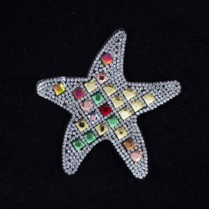 Термоаппликация ТАС 152 морская звезда 9см
