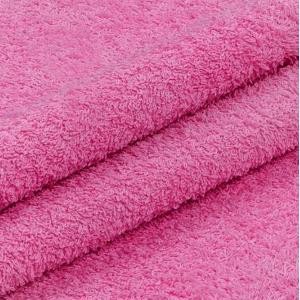 Махровая ткань 220 см 430гр/м2 цвет малиновый