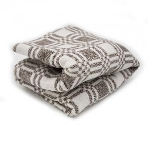 Одеяло байковое 170/200 цвет коричневый