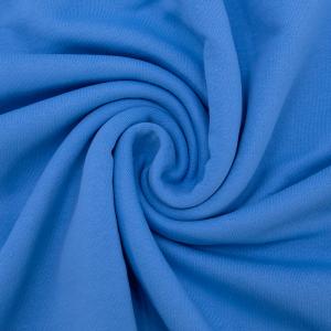 Ткань на отрез футер 3-х нитка диагональный цвет бирюза