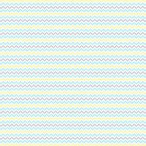 Перкаль 150 см набивной арт 140 Тейково рис 13166 вид 2 Зигзаг голубой