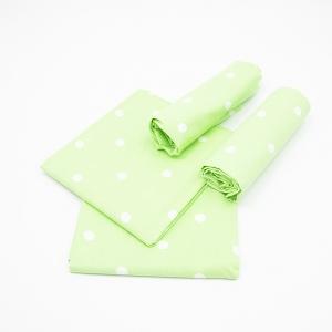 Набор детских пеленок поплин 4 шт 73/120 см 1740/3 цвет зеленый