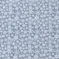 Ткань на отрез поплин 150 см 1827/1 цвет серый