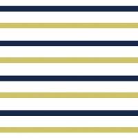 Ткань на отрез интерлок пенье Двухцветная полоска 58-18