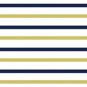 Ткань на отрез интерлок 40/1 Гребенное Двухцветная полоска 58-18
