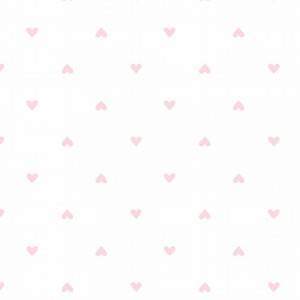 Ткань на отрез интерлок 40/1 Гребенное Сердечки 5702-17