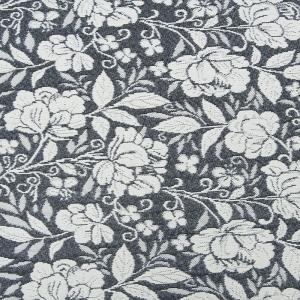 Гобелен Жаккард розы 230 см 1706-02 G-900 цвет темн-серый