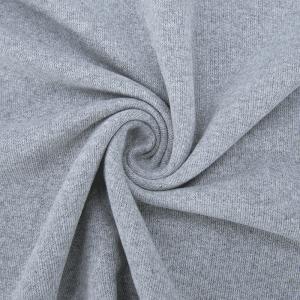 Ткань на отрез футер петля 20-07 цвет с.серый