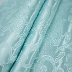Портьерная ткань 150 см на отрез 100/2С цвет 76 мята
