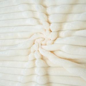 Ткань на отрез велсофт Orrizonte 300 гр/м2 200 см цвет экрю