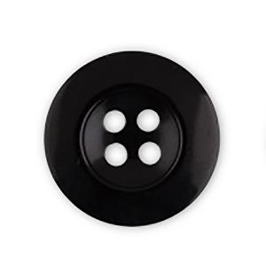 Пуговицы Рубашка 4-х пр 11 мм цвет черный упаковка 24 шт
