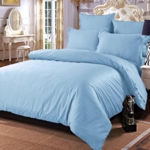 Постельное белье сатин 15-3920 Голубой 1.5 сп