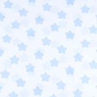 Ткань на отрез бязь плательная 150 см 1737-А/3 цвет голубой