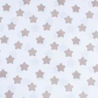 Ткань на отрез бязь плательная 150 см 1737-А/18 цвет кофе