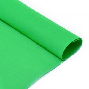 Фоамиран Magic 4 Hobby в листах арт.MG.N030 цв.ярко-зеленый, 1 мм 50х50 см