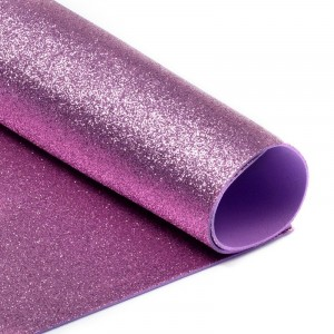Фоамиран глиттерный Magic 4 Hobby 2 мм арт.MG.GLIT.H003 цв.розовый, 20х30 см