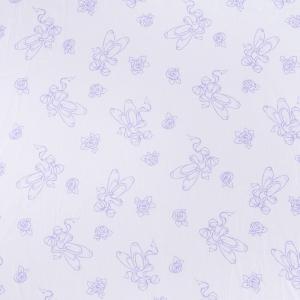 Ткань на отрез поплин 150 см 10944/1 Балерина компаньон