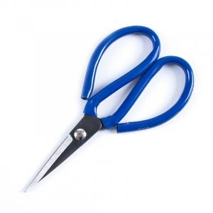 Ножницы портновские цельнометалические 18,5см №3 (синяя ручка)