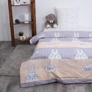 Детское постельное белье из поплина 1.5 сп Кроля 3060-1