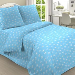 Бязь о/м 120 гр/м2 детская 150 см 2060/4 цвет голубой