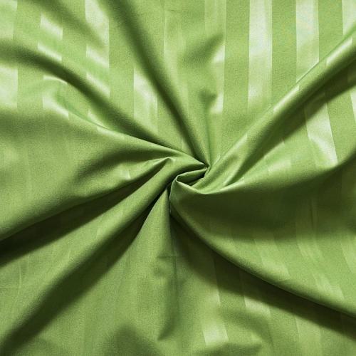 Страйп-полисатин гладкокрашеный 220 см цвет зеленый
