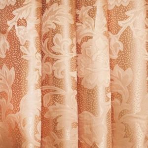 Портьерная ткань 150 см 29 цвет персик ветка