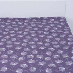 Простынь на резинке поплин 9099/1 140/200/20 см